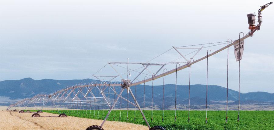 системы орошения полей Electrogator