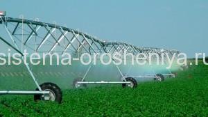 система орошения и полива полей