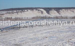 Дождевальные машины Reinke в Якутии