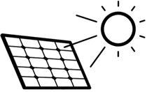 Питание от солнечной батареи