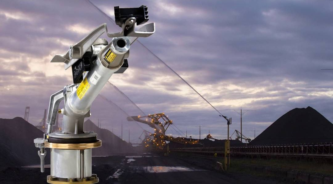 Промышленное применение спринклера Big Gun