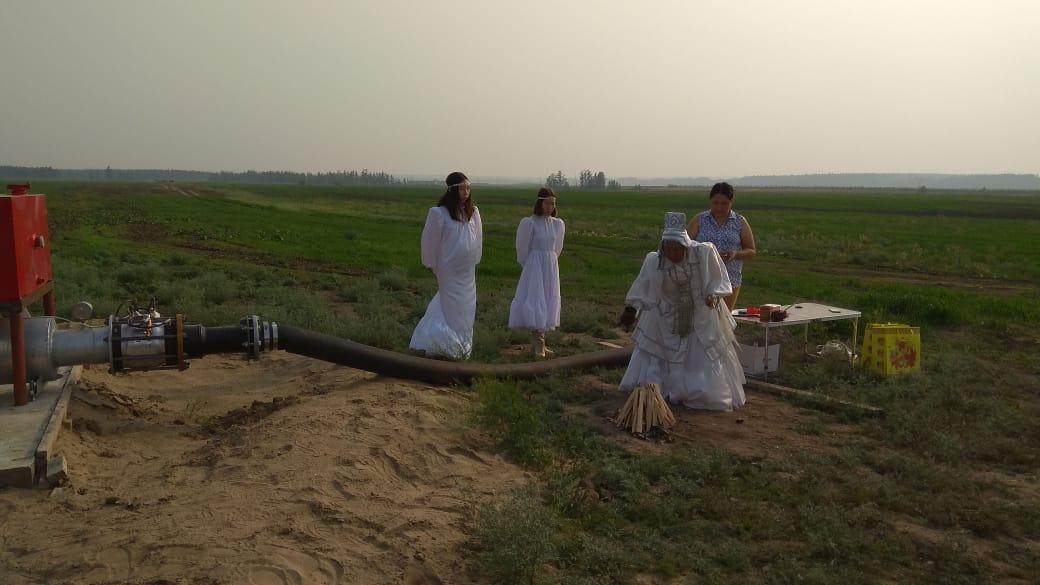 Шаман проводит ритуал над Reinke