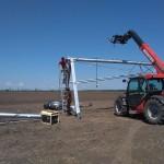 Монтаж дождевальной машины в краснодарском крае